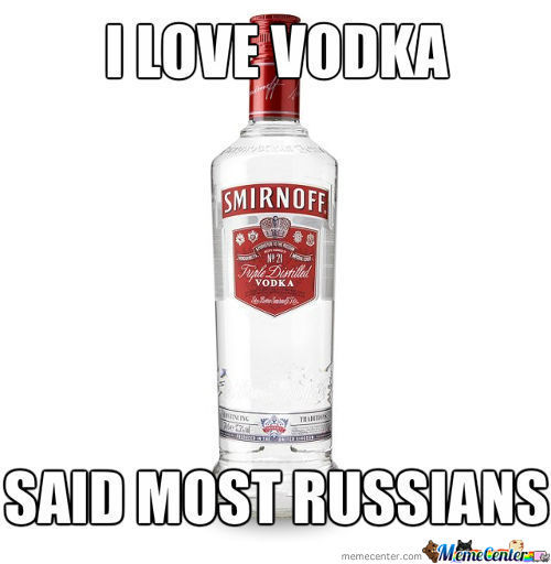 They Love Vodka