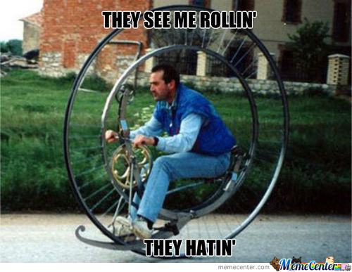 They See Me Rollin....