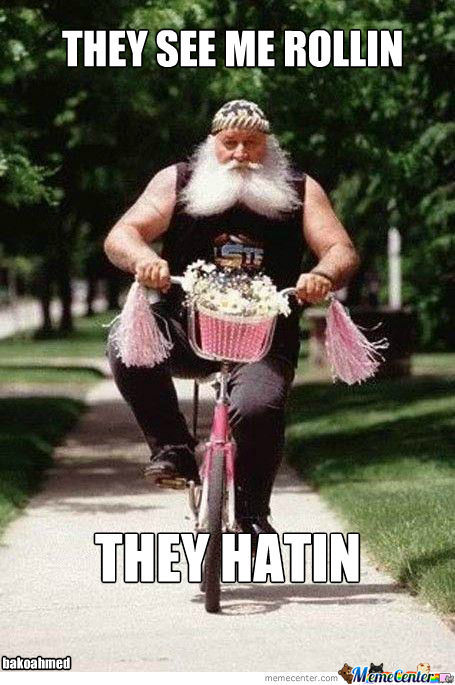 They See Me Rollin......