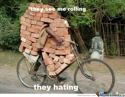 They See Me Rolling They Hating