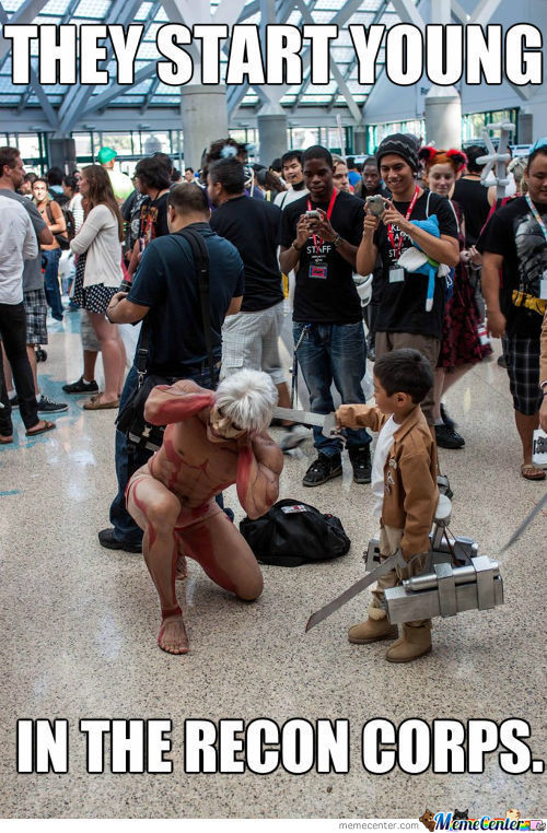 They Start Young In The Recon Corps.