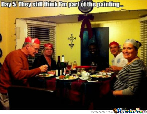 They Still Think Im Part Of The Painting
