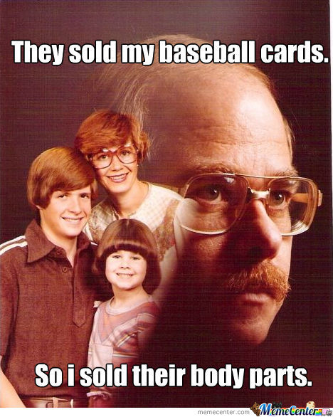 They Took My Baseball Cards