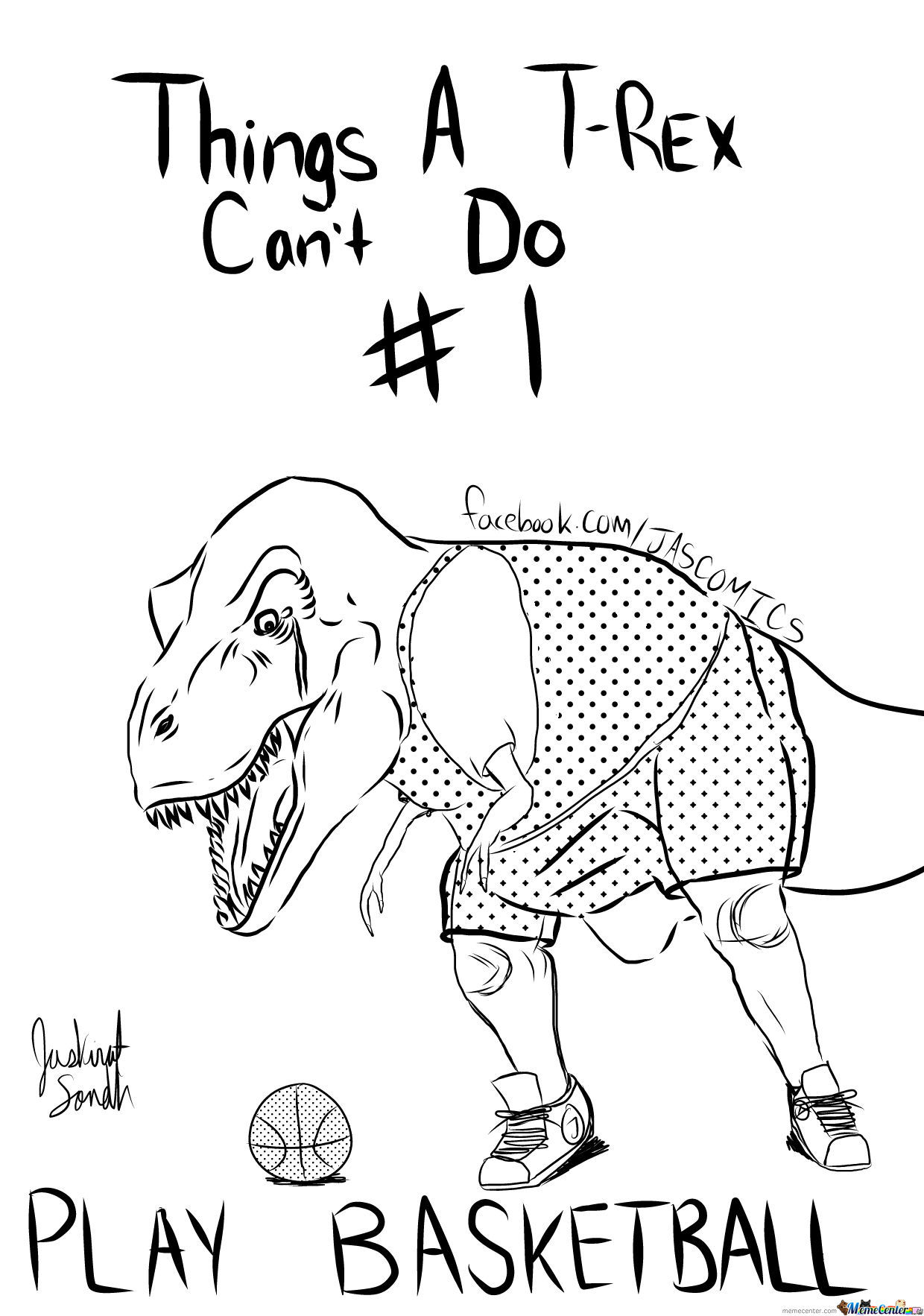 Things A T-Rex Can't Do #1