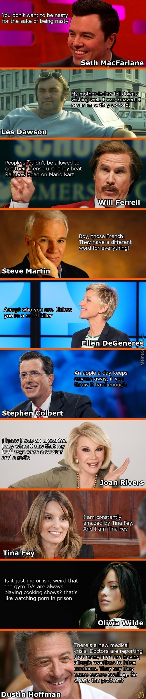 Things Celebrities Say...