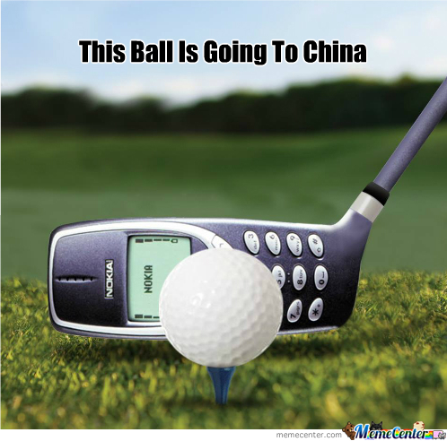 This Ball Is Going To China