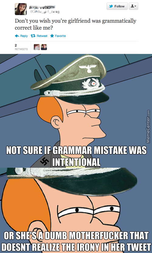 GRAMMAR NAZIS! PLEASE HELP?