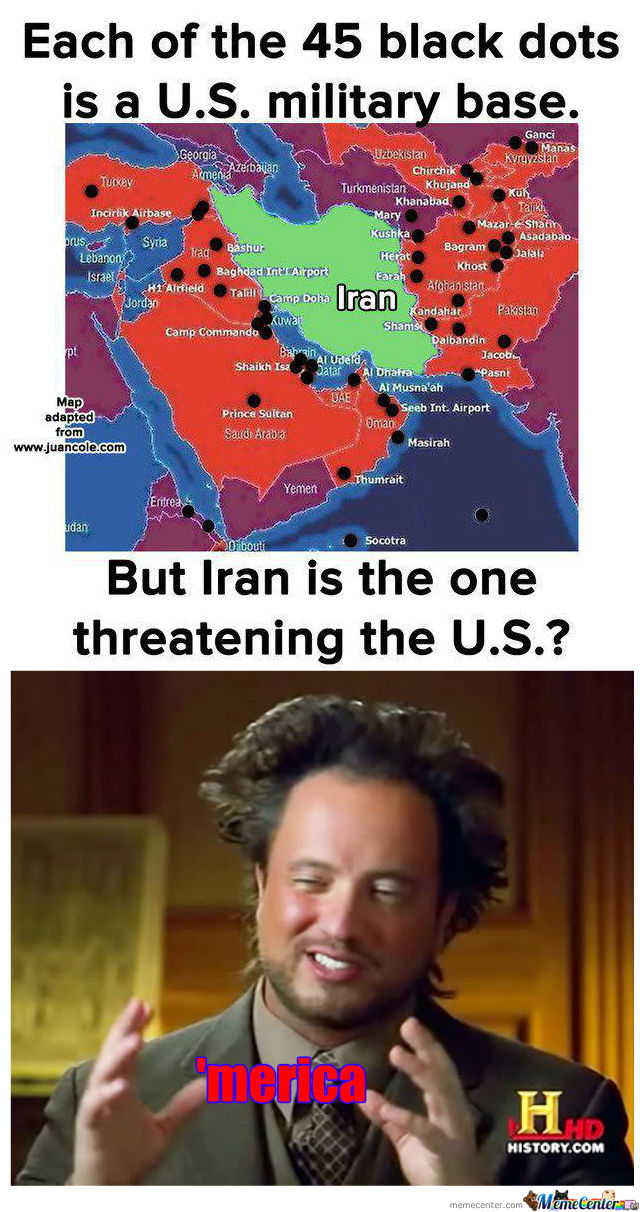 This Could Be Part Of The Reason Iran Is So Damn Defensive !