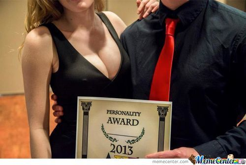 This Girl Got An Award For Her Great Personalititties...