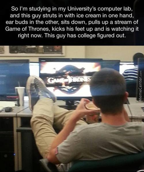 This Guy Knows How To Live His Life