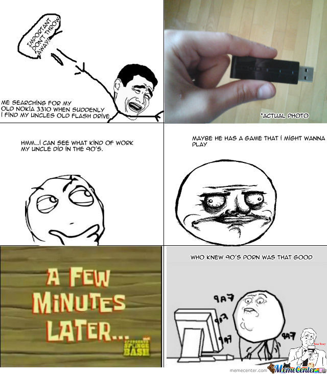 This Happened When I Found My Uncle's Flash Drive