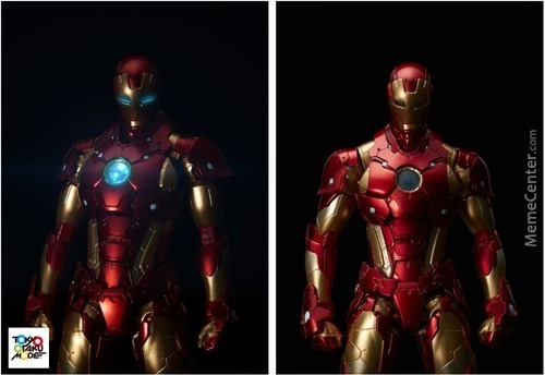 This Is A New Iron Man...from Japan....you're Welcome.