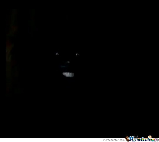 This Is How A Black Guy Looks Like When Sitting In Fornt Of A Computer With The Lights Off While Watching Porn.