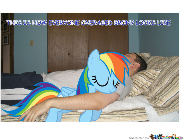 This Is How Bronies Look Like.
