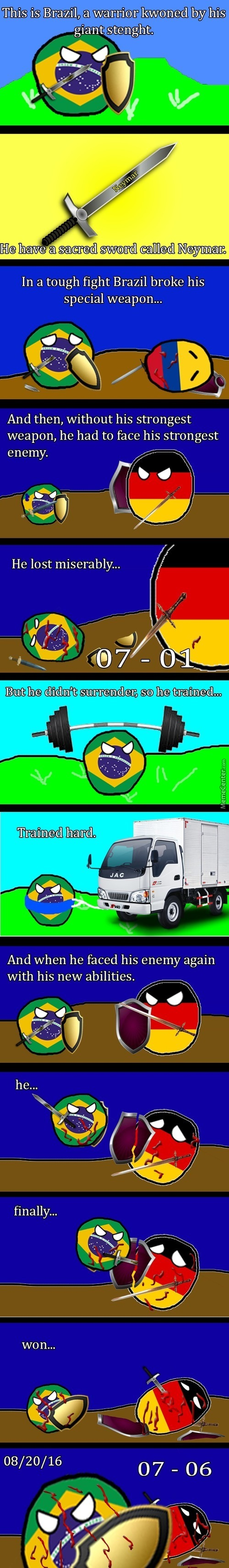 This Is Shounen About Brazil. We Won!