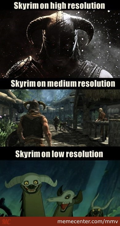 This Is Why I Always Play On Different Resolutions
