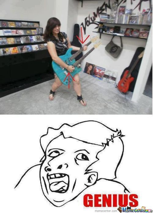 This Is Why Women Can't Play Guitar