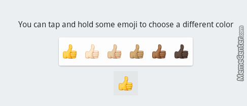 This Isn't Racial Awareness/diversity, This Is Racist And Sad. Watsapp Emoji's.