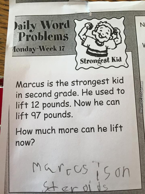 This Kid Has Got The Right Idea