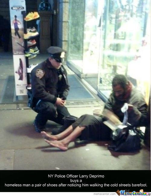 This Police Officer Earned My Respect And Restored My Faith Back In Humanity