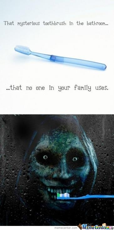 Mysterious Toothbrush