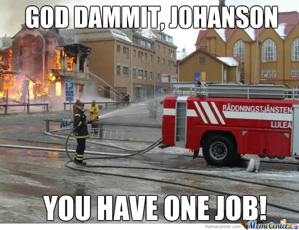 This Swedish Firefighter Cant Do Shit