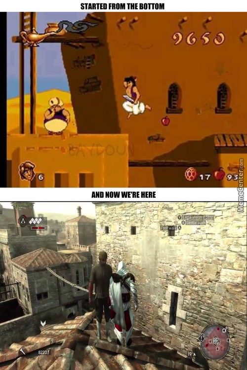 This Was The Assassin's Creed Of My Time You Noobs