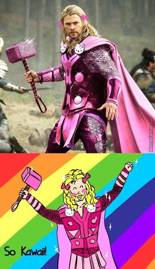 Thor Is Too Kawaii