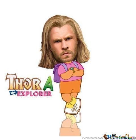 Thora The Explorer!