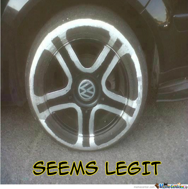 Those Are Some Sweet Rims You Got
