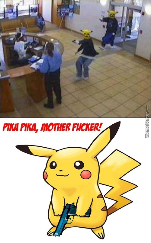 Those Damn Pikachus, Never Free A Pikachu They Are All Bad News