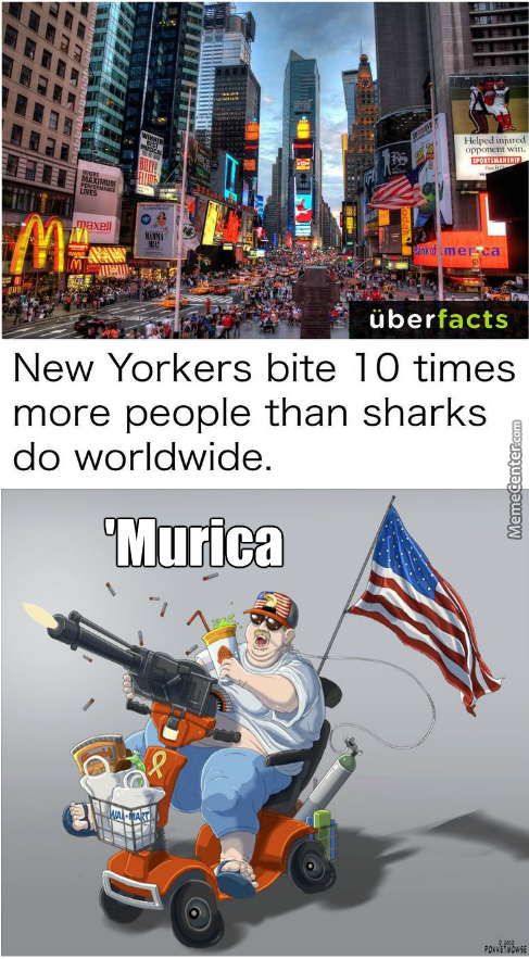 Those Poor Americans Were Just Hunry I Bet