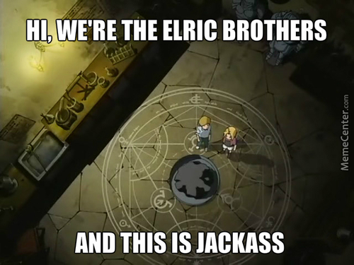 Those Silly Brothers...