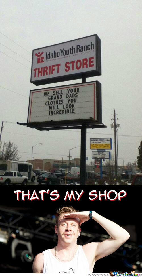 Thrift Shop With Mackelmore