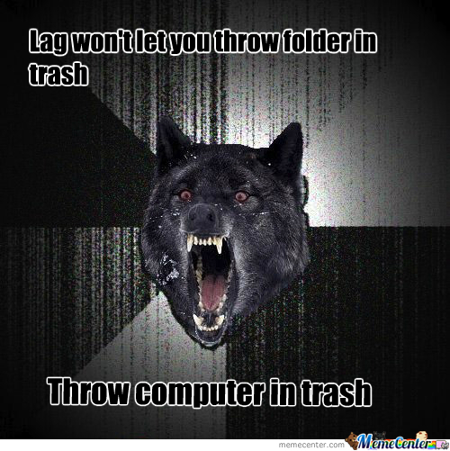 Throw Computer In Trash
