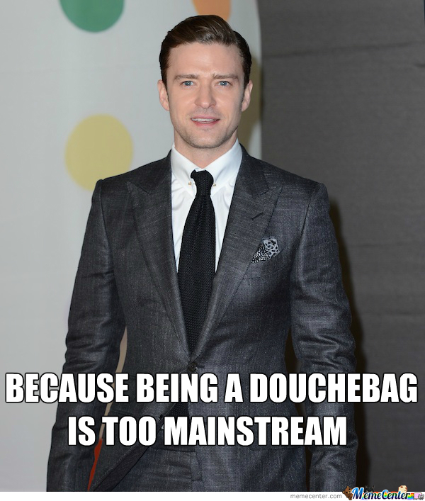 Timberlake Is Doing It Right