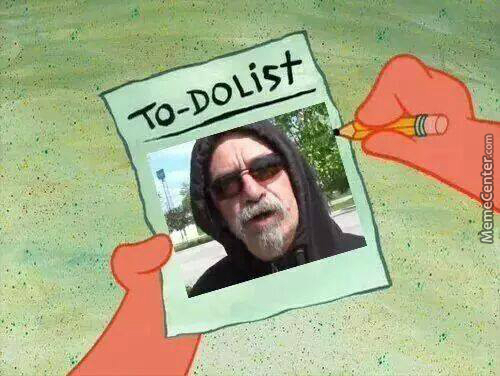 Time For The To Do List.