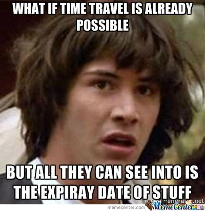 Time Travel??