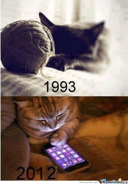 Times Have Changed.