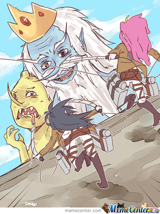 Titans On Adventure Time