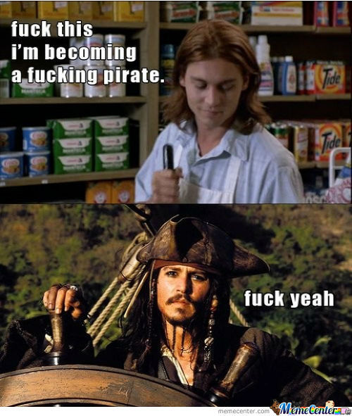 I Will Be A Pirate