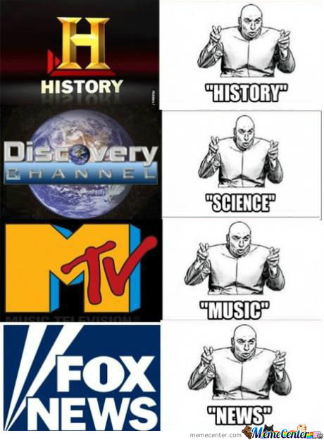 Channels these days..