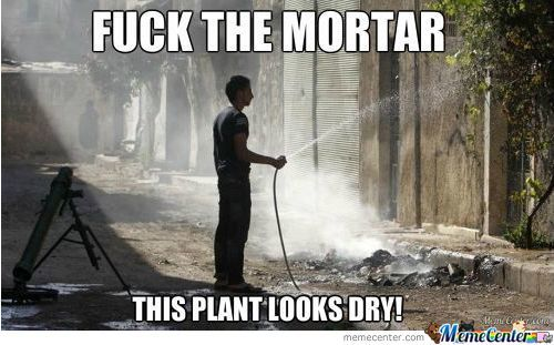 F*** the mortar