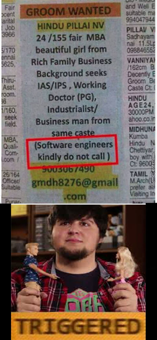 Tmw You A Software Engineer