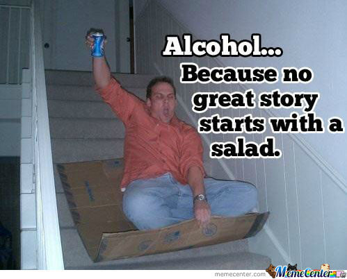 To Alcohol!