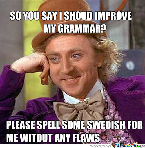 To All Grammar Nazis