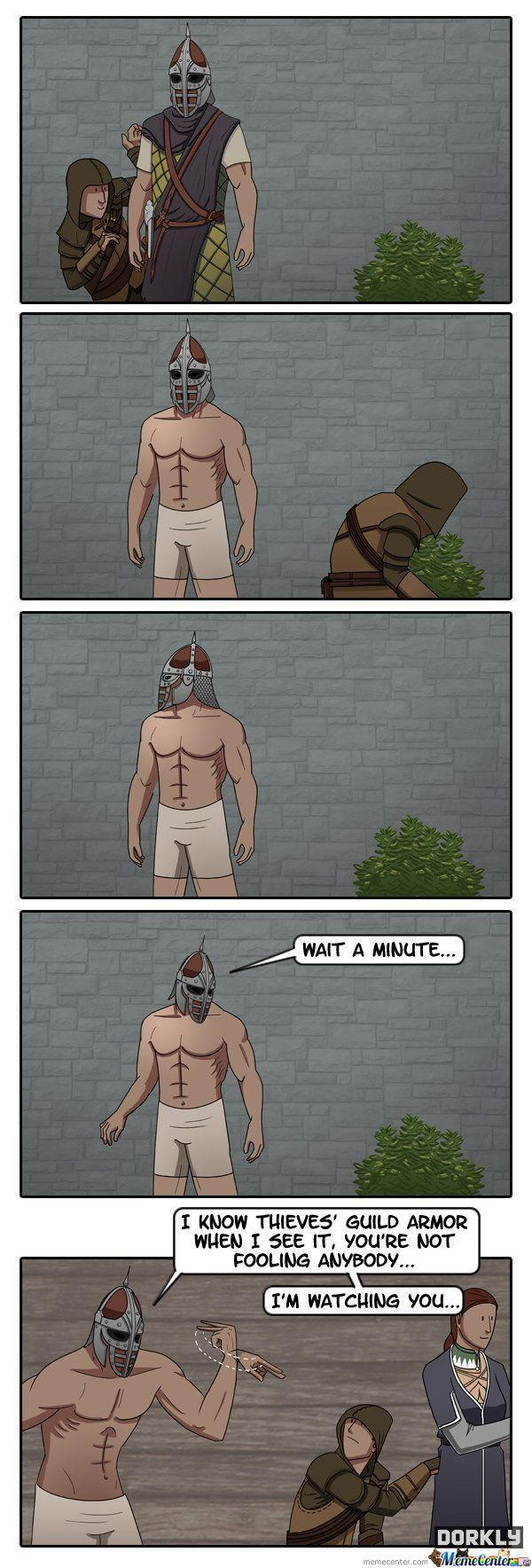 To Catch A Skyrim Thief