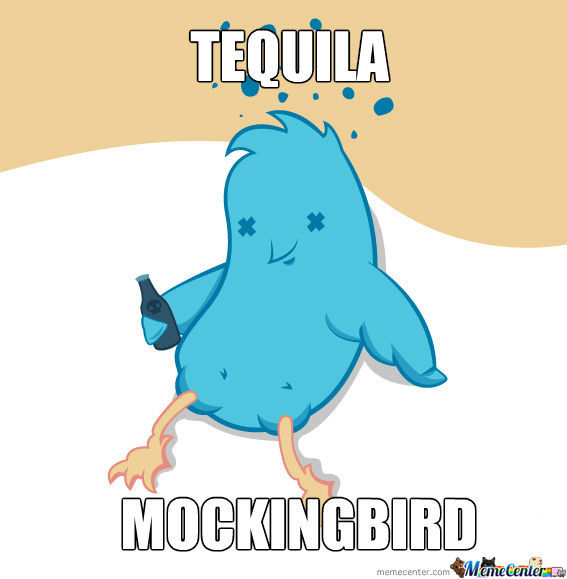 To Kill A Mockingbird. Ah, Puns.