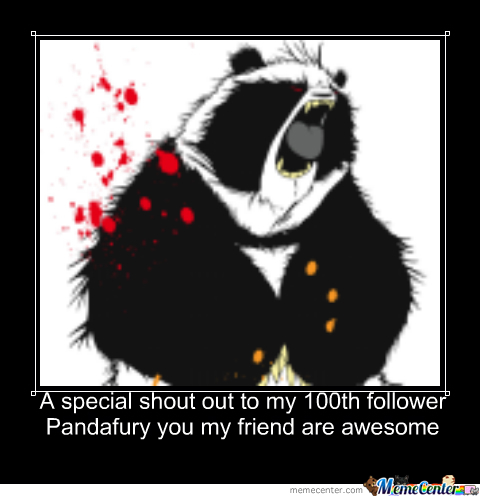 To My 100Th Follower