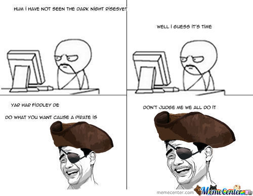 To The Pirate Bay